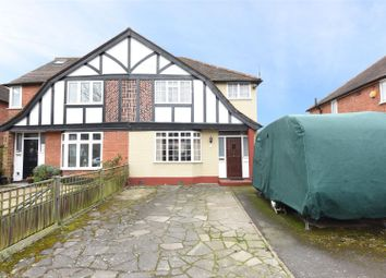 Thumbnail 3 bedroom semi-detached house for sale in Garden Road, Walton-On-Thames