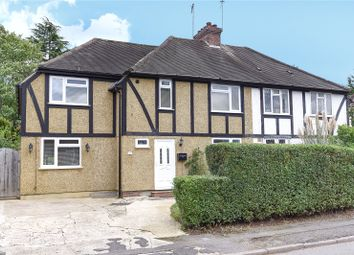 Thumbnail 4 bed semi-detached house for sale in Addison Close, Northwood, Middlesex