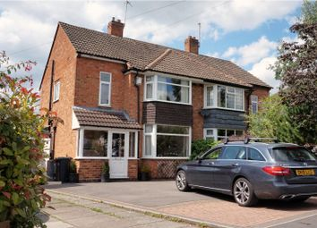 Thumbnail 3 bed semi-detached house for sale in Hanbury Road, Solihull