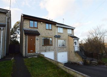 Thumbnail 3 bed semi-detached house for sale in Sandiway Bank, Dewsbury, West Yorkshire