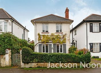 Thumbnail 3 bed detached house for sale in Heatherside Road, West Ewell, Epsom