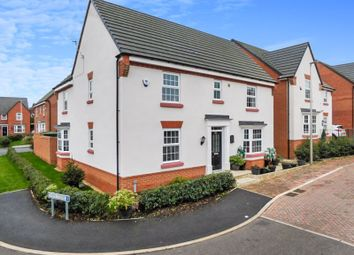 Thumbnail 4 bed detached house for sale in Thorneycroft Way, Crewe, Cheshire