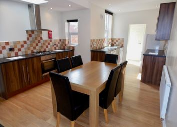 Thumbnail 5 bed terraced house to rent in Adderley Road, Leicester