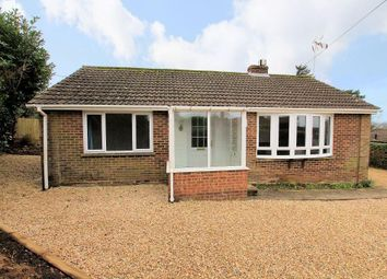 Thumbnail 2 bed detached bungalow to rent in Croft Way, Woodcote, Reading