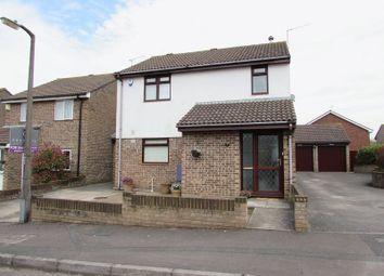 Thumbnail 3 bed link-detached house for sale in Rhode Close, Keynsham, Bristol