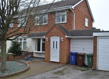 Thumbnail 3 bed property to rent in Harebell Close, Heath Hayes, Cannock