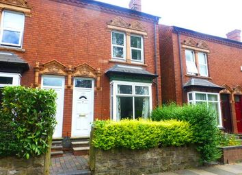 Thumbnail 3 bed end terrace house to rent in War Lane, Harborne, Birmingham