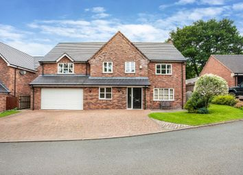 Thumbnail 5 bed detached house for sale in Walnut Rise, Congleton
