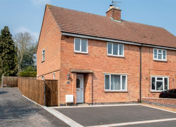 Thumbnail 3 bed semi-detached house for sale in Causeway Lane, Cropston, Leicester