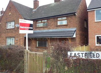 Thumbnail 3 bedroom semi-detached house for sale in Eastfield Drive, South Normanton, Alfreton, Derbyshire
