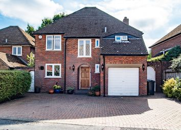 Thumbnail 4 bed detached house for sale in Cross Meadow, Chesham