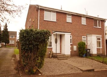 Thumbnail 1 bed town house to rent in Alder Close, Oakwood Derby