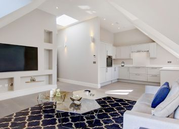 Thumbnail 3 bed penthouse for sale in Riddlesdown Road, Purley
