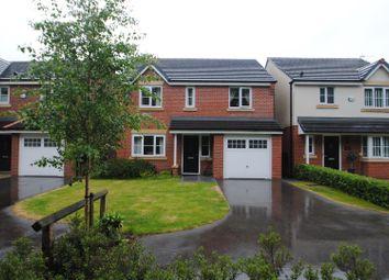 Thumbnail 4 bed detached house for sale in Doulton Close, Warrington, Warrington