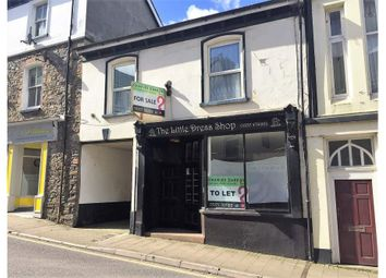 Thumbnail Retail premises for sale in 7 & 7A Fore Street, Bideford