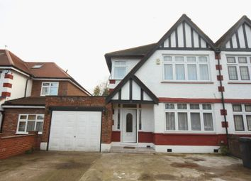 Thumbnail 5 bed semi-detached house to rent in Holt Road, Wembley