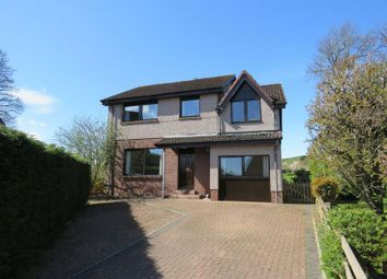 Thumbnail 4 bed detached house for sale in Abbotsview Court, Galashiels