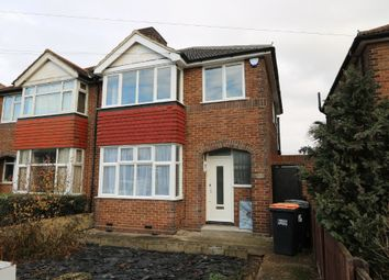 Thumbnail 3 bed semi-detached house to rent in London Road, Bedford, Bedfordshire
