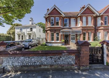 Thumbnail 3 bed end terrace house for sale in Heene Road, Worthing, West Sussex