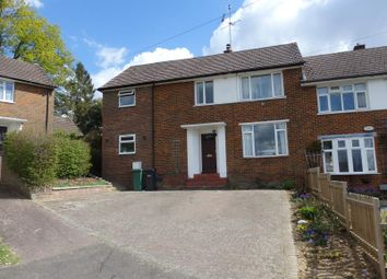 Thumbnail 4 bed semi-detached house to rent in Arbutus Close, Redhill