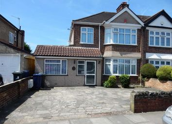 Thumbnail 4 bed semi-detached house for sale in Sherborne Avenue, Norwood Green, Middlesex