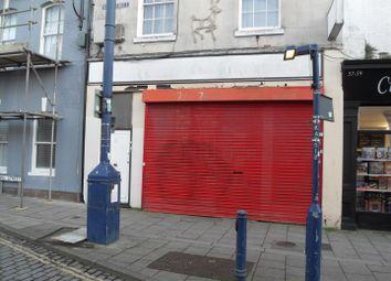 Retail premises to let in King Street, Ramsgate CT11