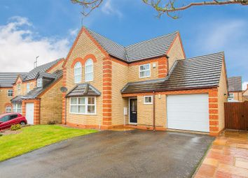 Thumbnail 4 bed detached house for sale in Norris Close, Kettering