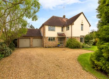 Thumbnail 5 bed detached house for sale in Back Lane, Holywell, Huntingdon, Cambridgeshire
