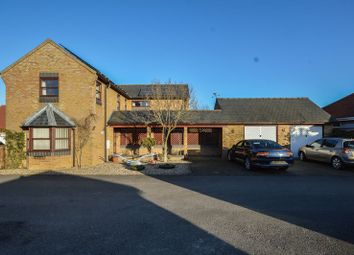 Thumbnail 4 bed detached house for sale in Crown Gardens, Little Downham, Ely
