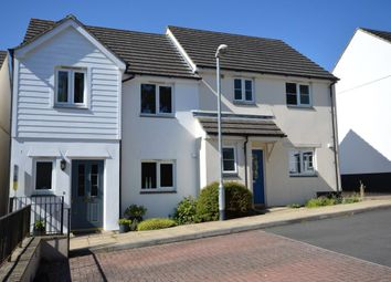 Thumbnail 3 bed semi-detached house to rent in Palace Gardens, Chudleigh, Newton Abbot, Devon