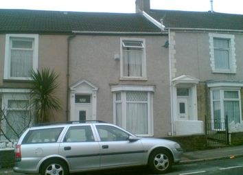 Thumbnail 3 bed terraced house to rent in Nicholl Street, Swansea