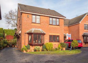 Thumbnail 3 bed detached house for sale in Willowcroft Way, Harriseahead, Staffordshire