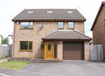 Thumbnail 5 bed detached house for sale in Castle Grove, Loughor, Swansea
