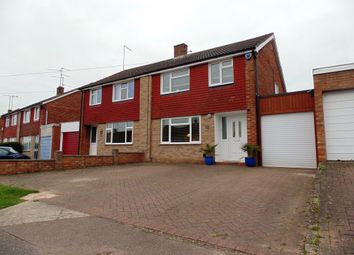 Thumbnail 3 bedroom semi-detached house for sale in Firsview Drive, Northampton
