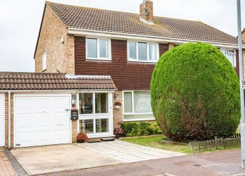 Thumbnail 3 bed semi-detached house for sale in Linnet Close, Shoeburyness, Southend-On-Sea