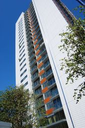 Thumbnail 1 bed flat to rent in Blackwall Way, Canary Wharf, London