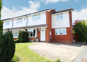 Thumbnail 3 bedroom semi-detached house for sale in Shelsley Way, Solihull