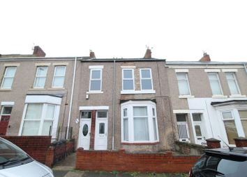 Thumbnail 4 bed flat for sale in Roman Road, South Shields
