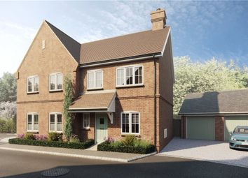 Thumbnail 2 bedroom semi-detached house for sale in Dunleys Hill, Odiham, Hook