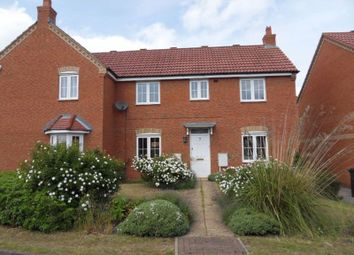 Thumbnail 3 bed semi-detached house to rent in Summers Close, Clapham, Bedford