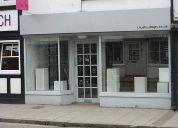 Thumbnail Retail premises to let in 5 West Street, Marlow, Buckinghamshire