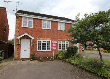 Thumbnail 2 bed semi-detached house for sale in Irwell Close, Oakham