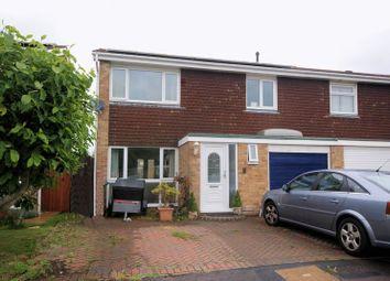 Thumbnail 3 bed semi-detached house for sale in Anzac Close, Stubbington, Fareham