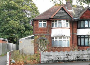 Thumbnail 3 bed semi-detached house for sale in School Road, Hall Green, Birmingham, West Midlands