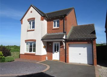 Thumbnail 3 bed detached house for sale in Greenrow Meadows, Silloth, Wigton