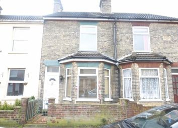 Thumbnail 3 bedroom terraced house for sale in Avondale Road, Lowestoft