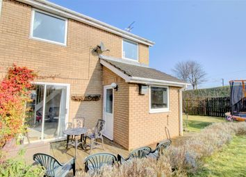 Thumbnail 2 bedroom semi-detached house for sale in Dilston Close, Pegswood, Morpeth
