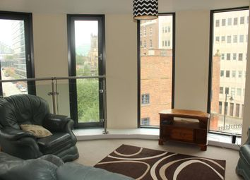 Thumbnail 2 bed flat to rent in Barnfield House, 1 Salford Approach, Salford
