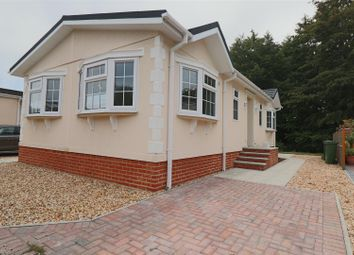 Thumbnail 2 bed mobile/park home for sale in Water End Park, Old Basing, Basingstoke
