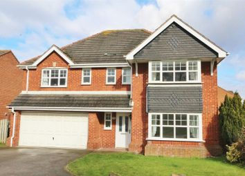 Thumbnail 5 bed detached house for sale in Calder Drive, Snaith, Goole